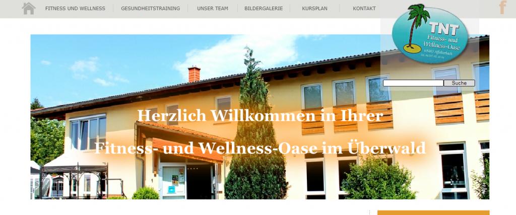 Webseite im Odenwald